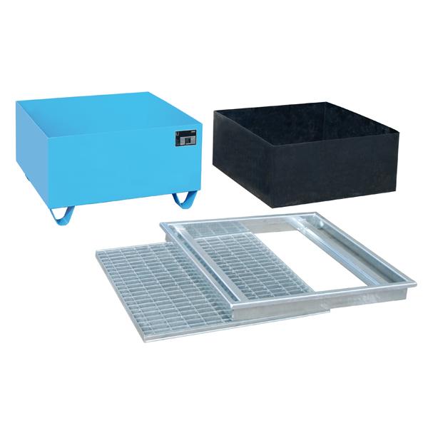 auffangwanne ab 200 liter gitterrost 3 mm stahlblech. Black Bedroom Furniture Sets. Home Design Ideas