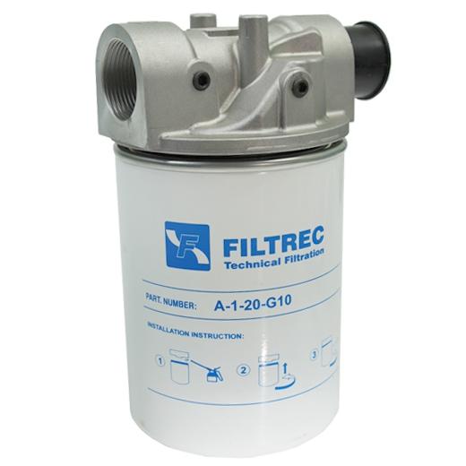 """Top Wasserfilter - 110 L/Min. - 10 bar - 1"""" BSP IG - für Diesel und Benzin UX12"""